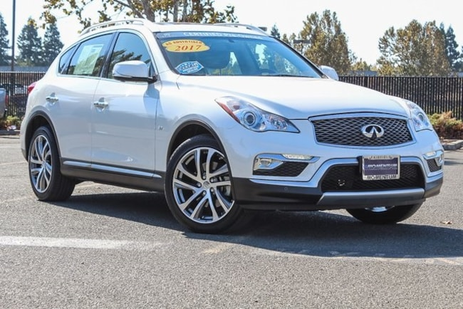 Used 2017 INFINITI QX50 SUV for sale in Fairfield CA