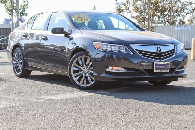 Used 2016 Acura RLX RLX with Technology Package Sedan for sale in Fairfield CA