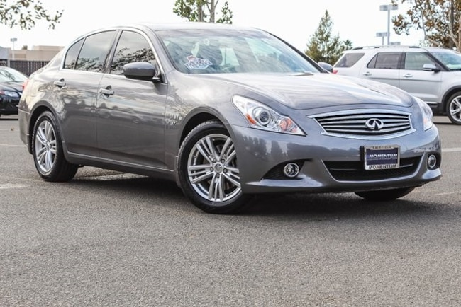 Used 2015 INFINITI Q40 3.7 Sedan for sale in Fairfield CA