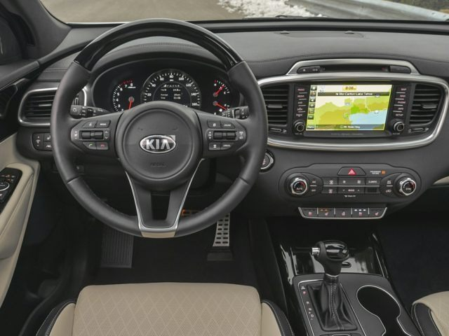 inside the 2017 Kia Sorrento
