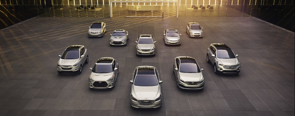 2015 Hyundai model line-up