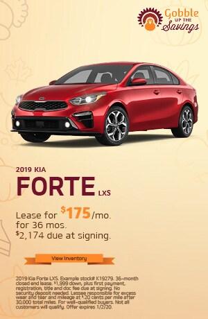 Kia Forte LXS Lease Offer