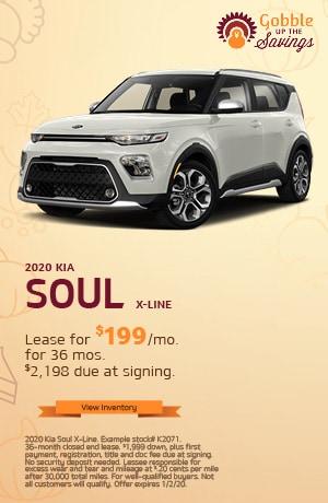Kia Soul X-Line Lease Offer