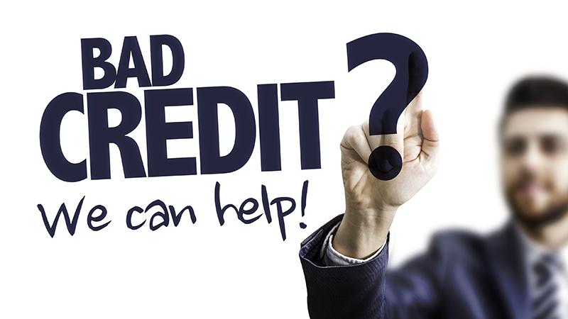 Bad credit. We can help.