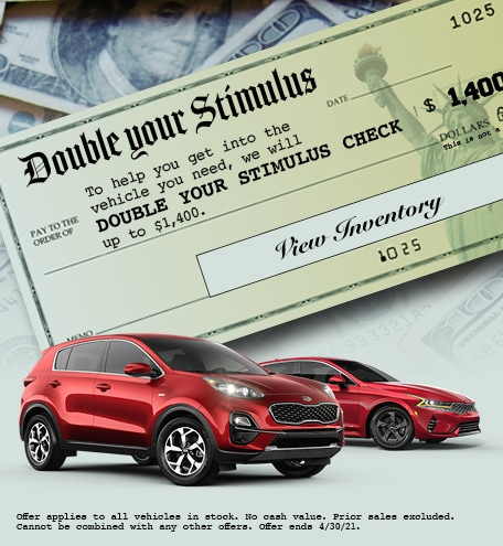 Double Your Stimulus Special Offer