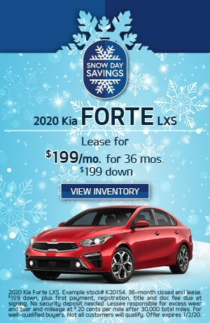 Kia Forte LXS Lease Offer