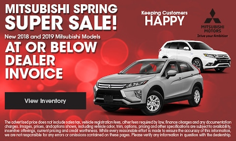 Mitsubishi Spring Blow Out Sale !!!