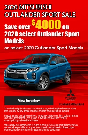 September 2020 Mitsubishi Outlander Sport Sale