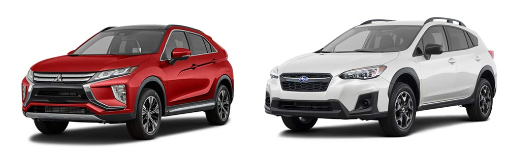 Eclipse Cross vs. Subaru Crosstrek