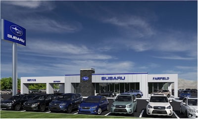 Fairfield Subaru Open during contruction