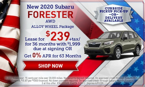 May 2020 Forester Special