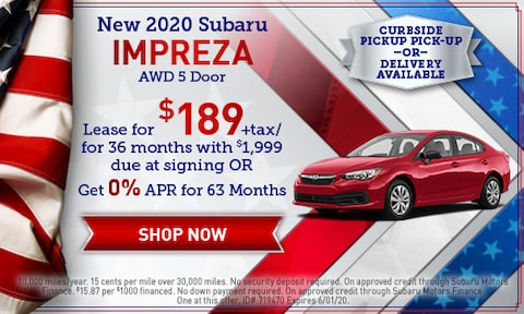 May 2020 Impreza Special