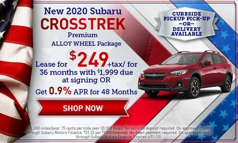 May 2020 Crosstrek Special