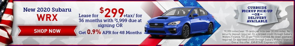 May 2020 WRX Special