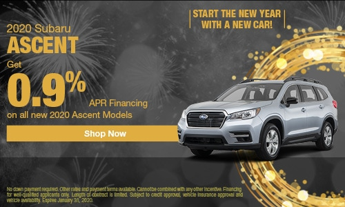 Subaru 0 Financing >> New Vehicle Specials Fairfield Subaru