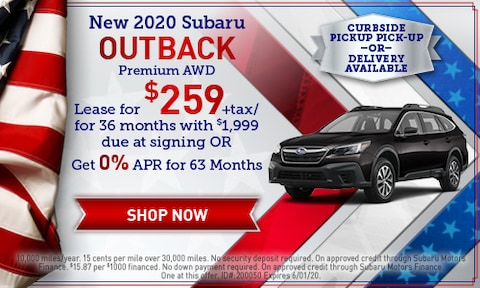 May 2020 Outback Special