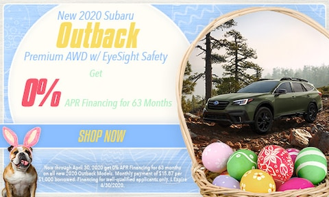 April 2020 Outback Special