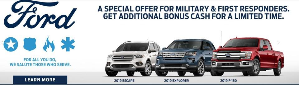 ALL Veterans Additional Cash Bonus
