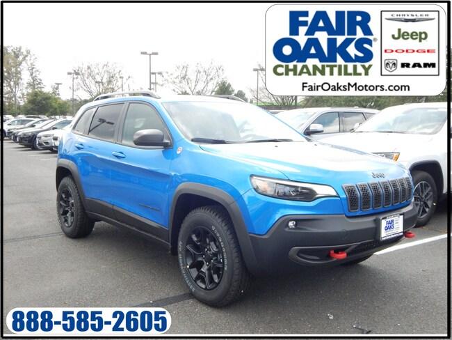 New 2019 Jeep Cherokee TRAILHAWK 4X4 Sport Utility in Chantilly, VA