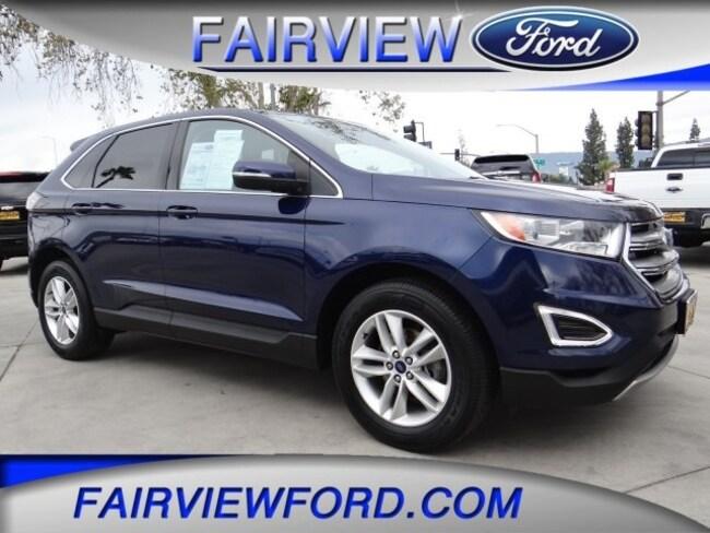 Used 2016 Ford Edge SEL SUV For sale near Hesperia CA