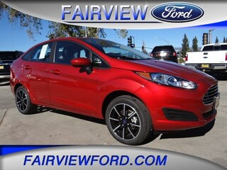 New 2018 Ford Fiesta SE Sedan 3FADP4BJ2JM147029 For sale near Fontana, CA