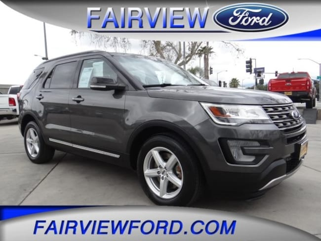 Used 2016 Ford Explorer XLT SUV For sale near Hesperia CA