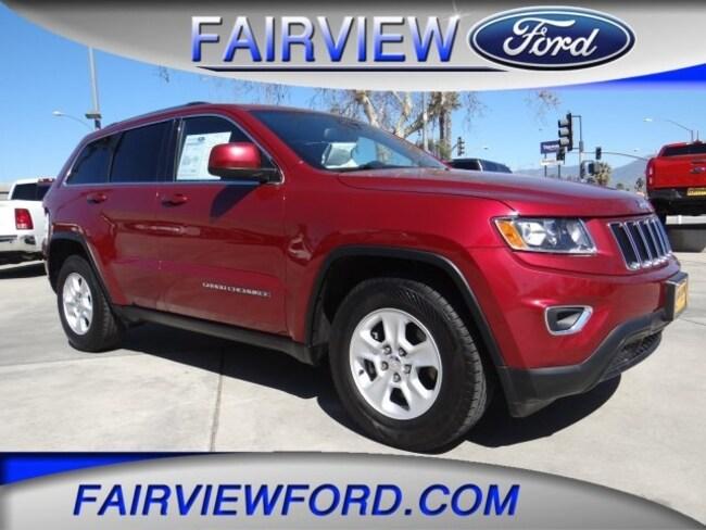 Used 2015 Jeep Grand Cherokee Laredo SUV For sale near Hesperia CA