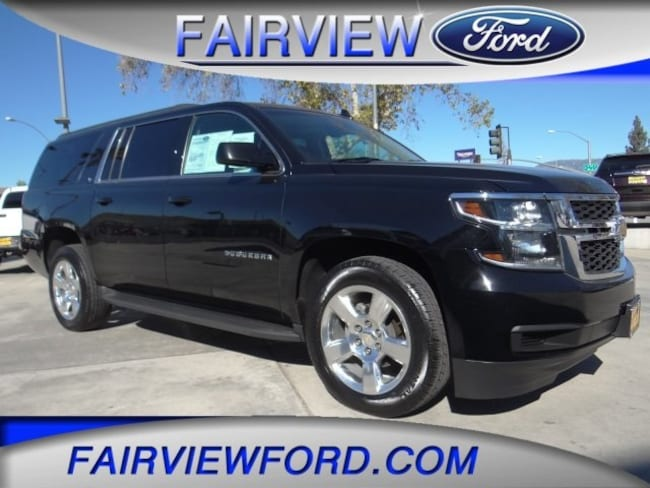 Used 2016 Chevrolet Suburban LT SUV For sale near Hesperia CA