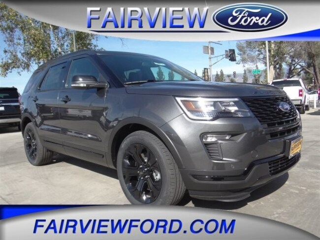 New 2019 Ford Explorer Sport SUV For sale near Riverside CA