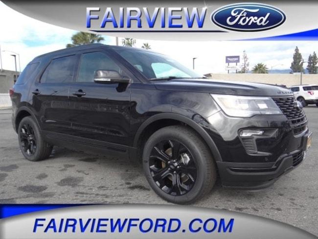 New 2019 Ford Explorer Sport SUV For sale near Riverside CA