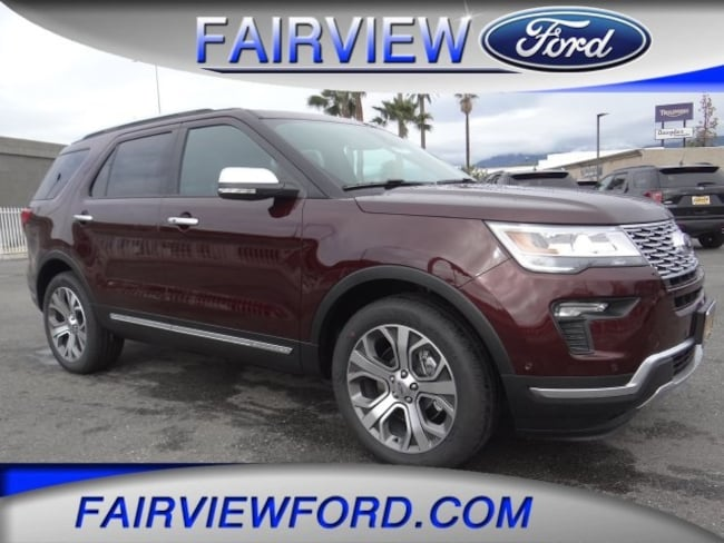 New 2019 Ford Explorer Platinum SUV For sale near Riverside CA