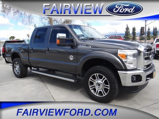 Used 2016 Ford F-350SD Lariat Truck For sale near Hesperia CA