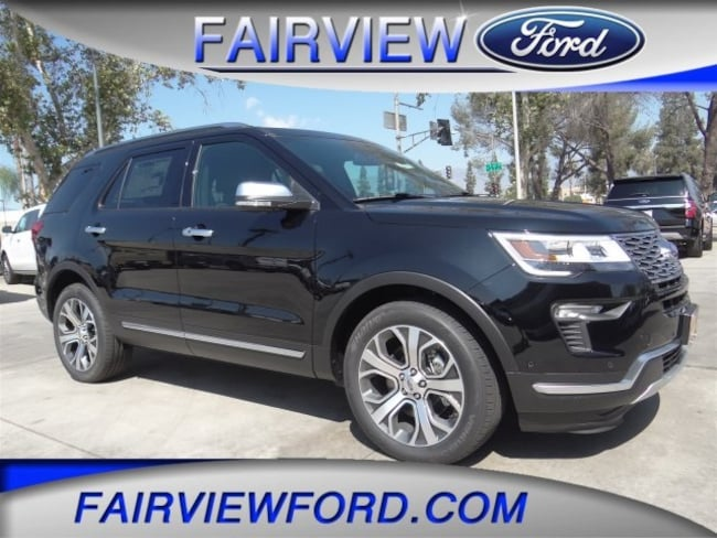 New 2018 Ford Explorer Platinum SUV For sale near Riverside CA