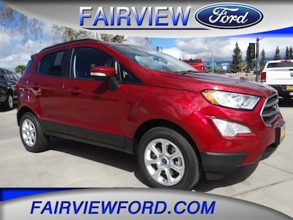 New 2019 Ford Ecosport Crossover Se Race Red For Sale In