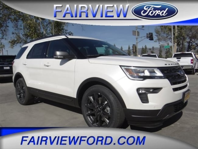 New 2019 Ford Explorer XLT SUV For sale near Riverside CA