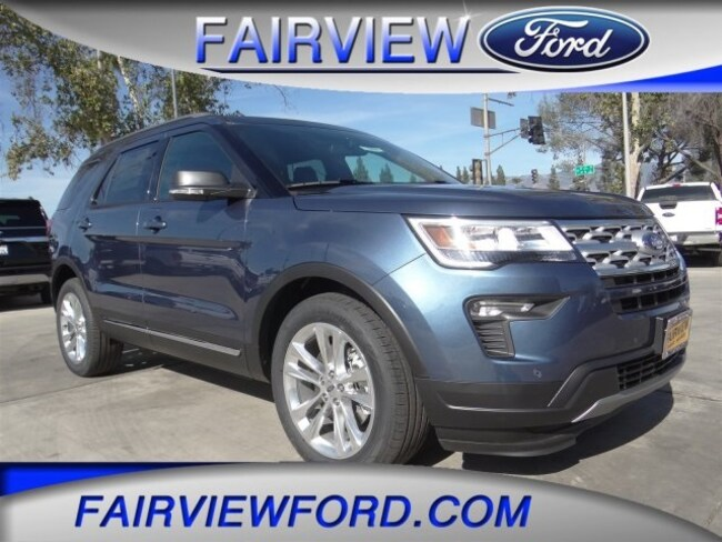 New 2019 Ford Explorer XLT SUV For sale near Riverside CA