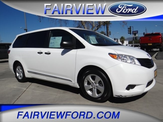 Minivan For Sale >> Used 2015 Toyota Sienna Minivan Van L Super White For Sale In San