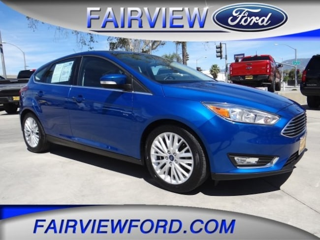 Used 2018 Ford Focus Titanium Hatchback For sale near Hesperia CA