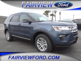 2019 Ford Explorer XLT SUV 1FM5K7D86KGA52263 For sale near Fontana CA