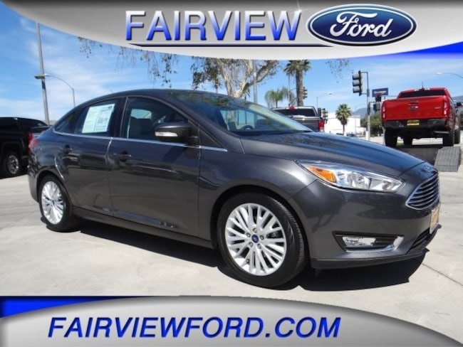 Used 2018 Ford Focus Titanium Sedan For sale near Hesperia CA