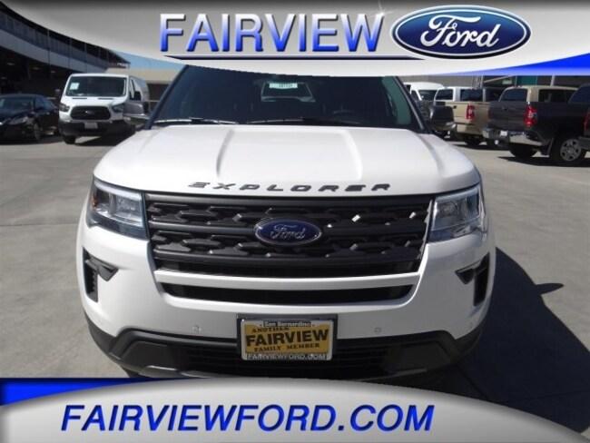 New 2018 Ford Explorer XLT SUV For sale near Riverside CA
