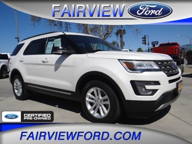 Used 2017 Ford Explorer XLT SUV For sale near Hesperia CA