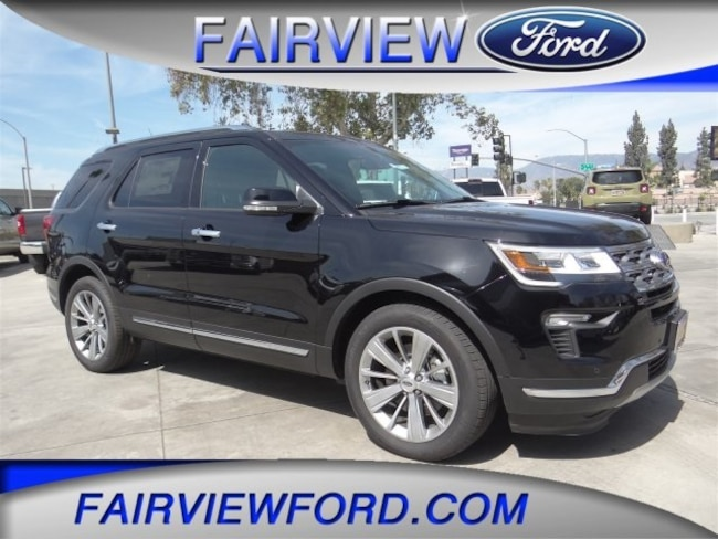 New 2018 Ford Explorer Limited SUV For sale near Riverside CA
