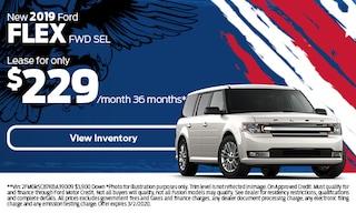 New 2019 Ford Flex FWD SEL