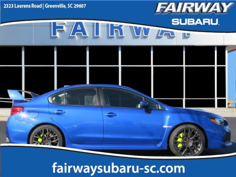 New 2019 Subaru WRX STI Sedan for sale in Greenville, SC