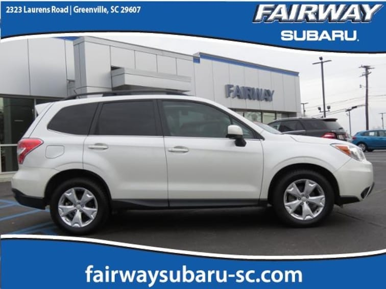 Used 2014 Subaru Forester 2.5i Limited SUV in Greenville
