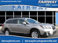 Certified Pre-Owned 2018 Subaru Outback 2.5i SUV 4S4BSADC0J3360734 for Sale in Greenville, SC