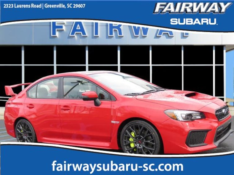 New 2019 Subaru WRX STI Limited Sedan for sale in Greenville, SC