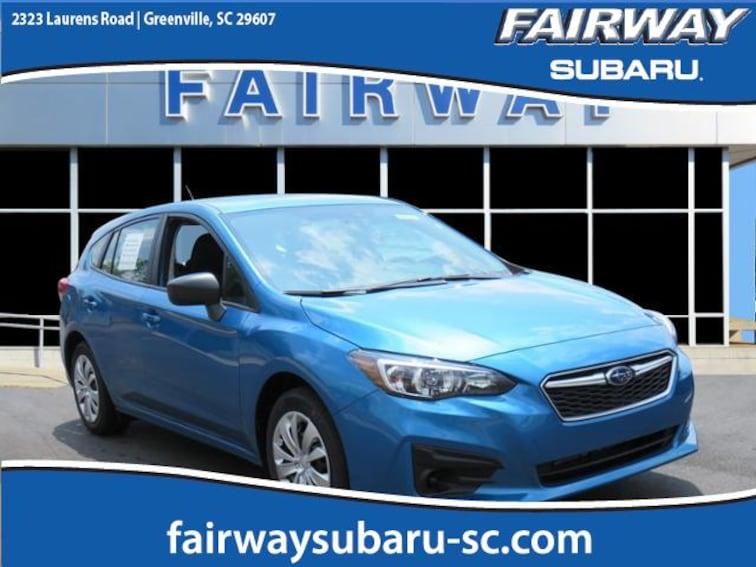 New 2018 Subaru Impreza 2.0i 5-door for sale in Greenville, SC
