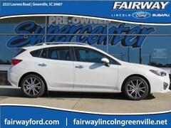 Used 2018 Subaru Impreza 2.0i Limited Hatchback 4S3GTAU66J3712765 for Sale in Greenville, SC